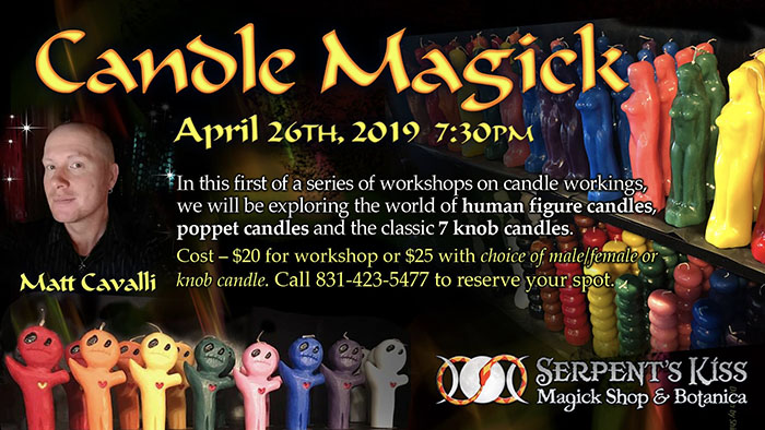 Candle Magick Workshop with Matt Cavalli