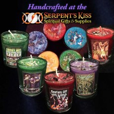 Serpent\'s Kiss Spell Votives