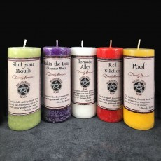 Wicked Witch Mojo Candles