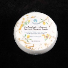 Calendula Lemon Herbal Shower Bomb