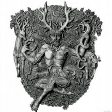 Cernunnos Plaque - Stone Finish