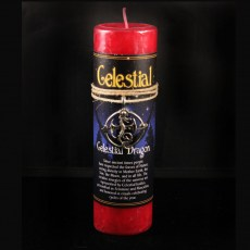 Celestial Dragon Candle with Pendant