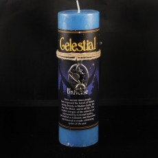 Celestial Universe Candle with Pendant
