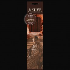Native Collection Incense Vanilla & Sweetgrass