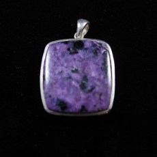 Charoite Polished Pendant