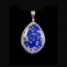 Lapis Polished Pendant