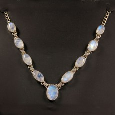 Moonstone Multi-stone Polished Pendant