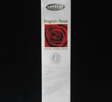 Nittraj Om English Rose Stick Incense