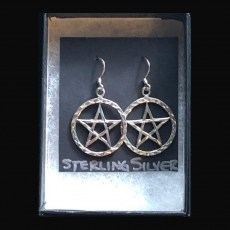 Pentagrams - Large Earrings