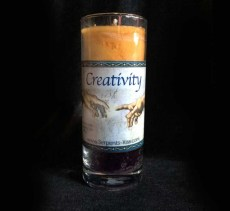 Creativity Spell Candle Pillar